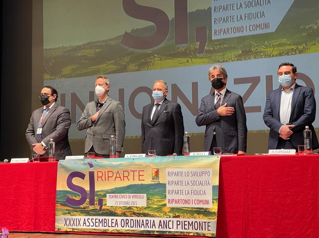 """XXXIX Assemblea a Vercelli, Corsaro: """"Si guardi ai sindaci con fiducia riconoscendo loro autonomia"""""""